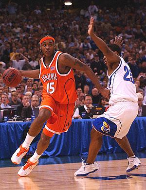 Carmelo Anthony Syracuse Carmelo Anthony 2002