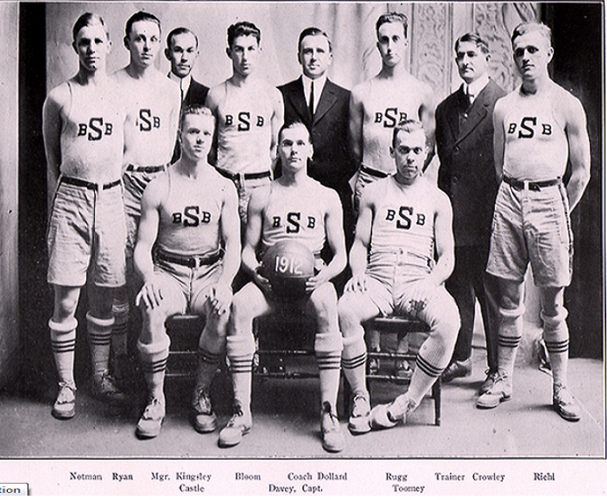 Syracuse Orangemen Basketball Team 1911-1912