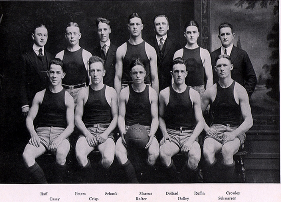 Syracuse Orangemen 1916-1917 Team Photo