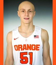 Evan Dourdas Syracuse Orange basketball